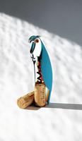 Alessi AAM32 AZ Parrot sininen korkinavaaja
