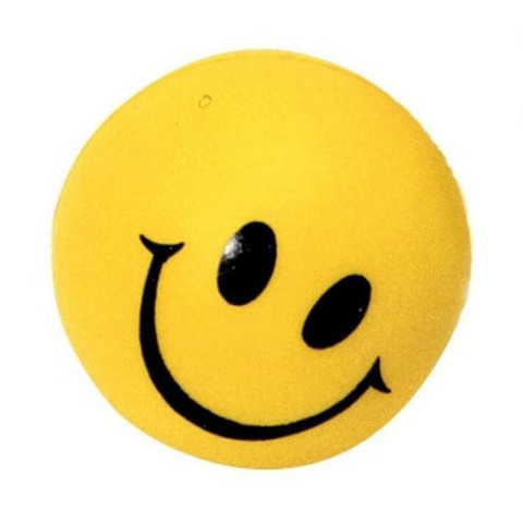 101563 Happy Face stressipallo 5 cm.