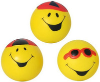 101348 Happy Face stressipallo 5,5 cm.