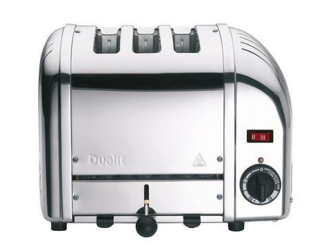 Dualit Classic leivänpaahdin 30095 kolmelle viipaleelle kromi