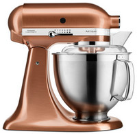 KitchenAid Artisan yleiskone 5KSM185PSECP satin copper 4,8+3L