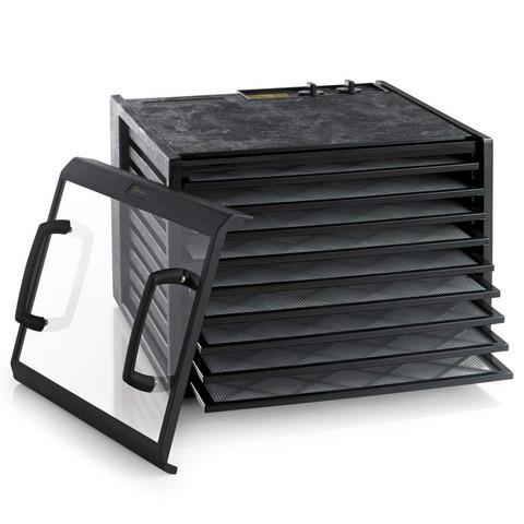 Excalibur 9 hyllyn elintarvikekuivuri 4926TCDFB läpinäkyvä ovi musta