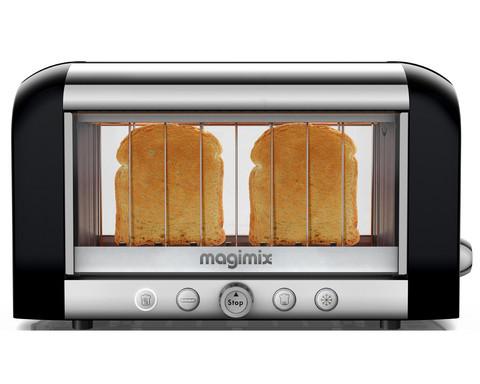Magimix Vision kahden viipaleen leivänpaahdin musta/teräs