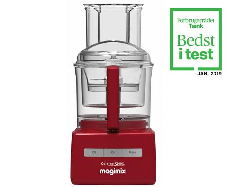 Magimix CS 5200 XL monitoimikone punainen 3,7 l kolmella kulholla