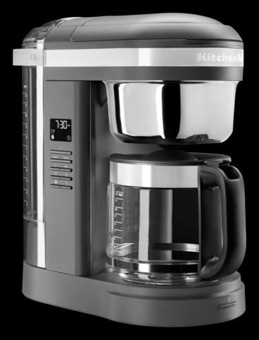 KitchenAid 5KCM1209EDG Drip kahvinkeitin matta harmaa 1,7 L
