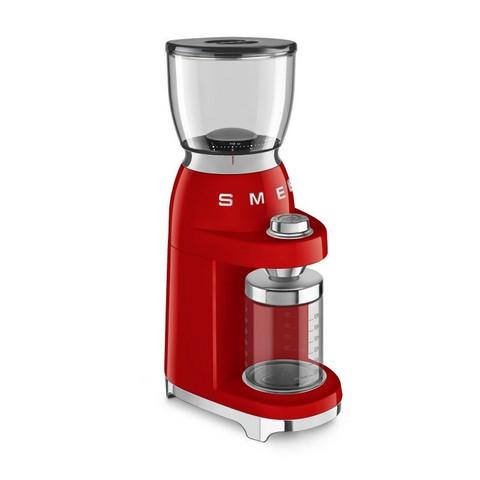 Smeg kahvimylly CGF01RDEU punainen