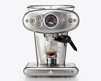 Illy X1 E&C 60247IL  kapseli-espressokone teräs