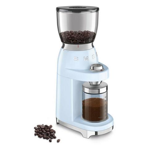 Smeg kahvimylly CGF01PBEU pastellin sininen