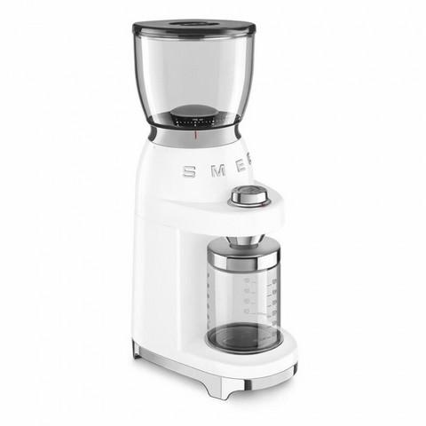 Smeg kahvimylly CGF01WHEU valkoinen