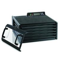 Excalibur 5 hyllyn elintarvikekuivuri 4548TCDFB läpinäkyvä ovi musta