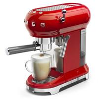 Smeg espressokeitin ECF01RDEU punainen