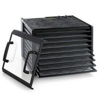 Excalibur 9 hyllyn elintarvikekuivuri 4926TCDFB 26h ajastimella ja läpinäkyvällä ovella musta