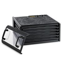 Excalibur 5 hyllyn elintarvikekuivuri  4526TFB 26h ajastimella ja läpinäkyvällä ovella  musta