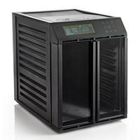 Excalibur 10 hyllyn elintarvikekuivuri RES10 läpinäkyvät ovet musta