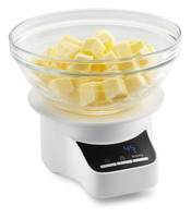 Keittiövaaka ja siivilä 5KSMSFTA  KitchenAid yleiskoneeseen valkoinen
