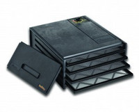 Excalibur 4 hyllyn elintarvikekuivuri 4400220F  musta