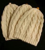 L.valk. palmikkopipo, 100 % alpakkaa