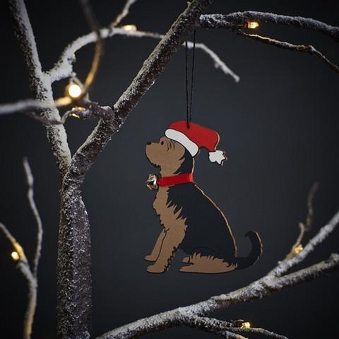 Joulukoriste, Yorkshiren terrieri