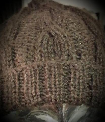 Alpakkapipo, ruskea