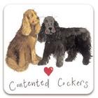 Jääkaappimagneetti Contented cockers