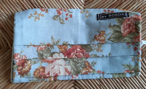 Kotimainen kasvomaski by ROSOA, erilaisia kangasvaihtoehtoja