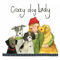 Lasinalunen Crazy dog lady