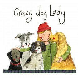 Lasinalunen Crazy dog lady