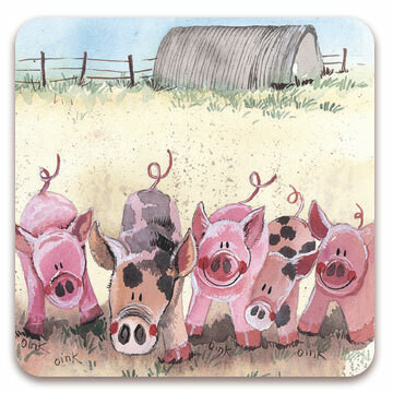Jääkaappimagneetti five little pigs