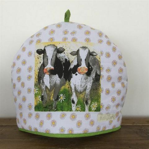 Tee- tai kahvipannun myssy Curious cows