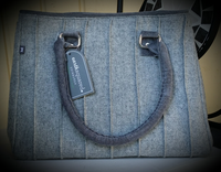 Plain wool Catherine bag