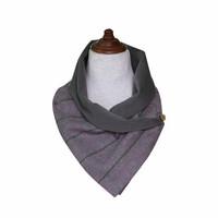 Tweedhuivi, violetti