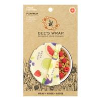 Bee's Wrap 3-pakkaus kaikki koot, Fresh Fruit