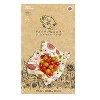 Bee's Wrap Kasvipohjainen 3-pakkaus kaikki koot Meadow Magic