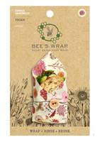 Bee's Wrap Kasvipohjainen Single Sandwich Meadow Magic