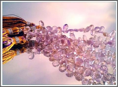 Ametriini A, 6-7 mm päärynäbrioletti, 10 kpl