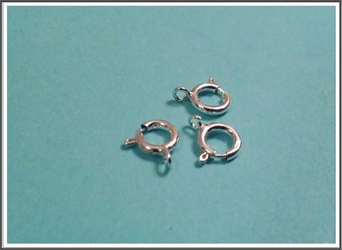Jousilukko .925 hopea Ø 5,5 mm avattavalla renkaalla