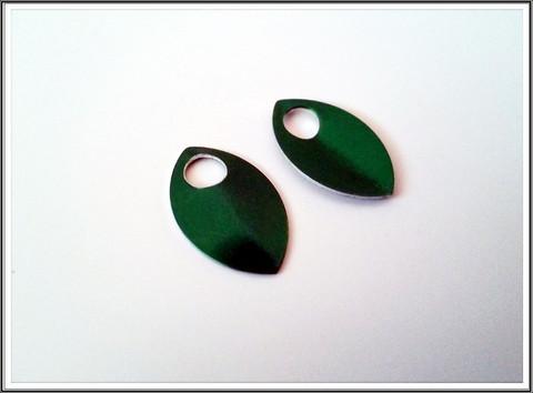 Alumiinihela, 22 x 14 mm, vihreä
