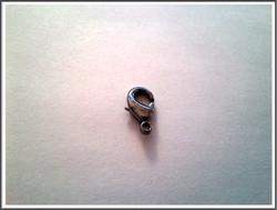 Papukaijalukko 15 mm, tumma teräs, kpl