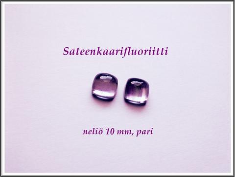 Fluoriitti AA, 10 mm kapussi, neliö, PARI