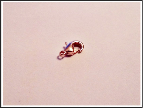Papukaijalukko 12 mm, ruusukulta