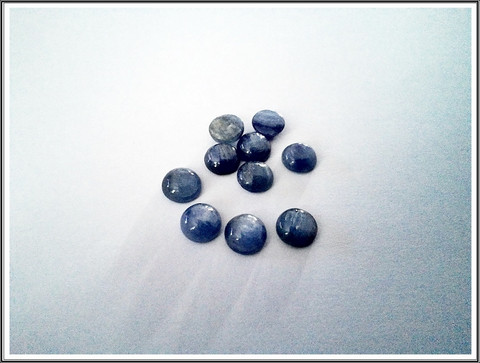 Kyaniitti, 8 mm kapussi