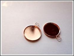 Korupohja Ø 18 mm kapussille, ruusukulta