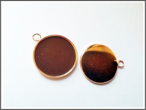 Korupohja Ø 25 mm kapussille, ruusukulta