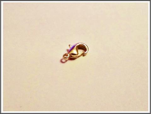 Papukaijalukko, 12 mm, kulta