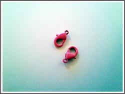Papukaijalukko 12 mm, pinkki