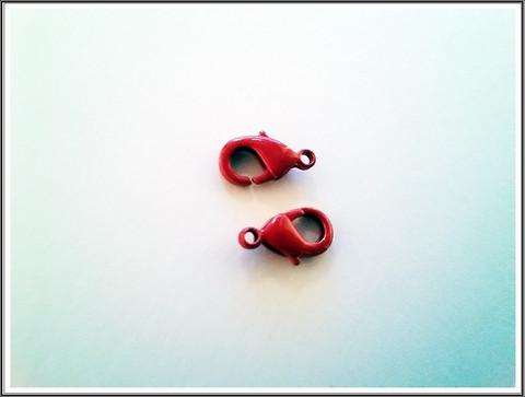 Papukaijalukko 12 mm, punainen