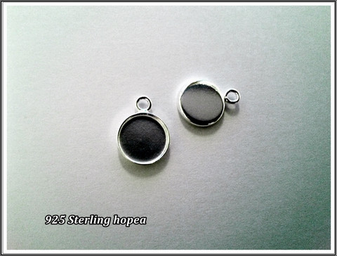 Korupohja .925 hopea Ø 10 mm, riipus