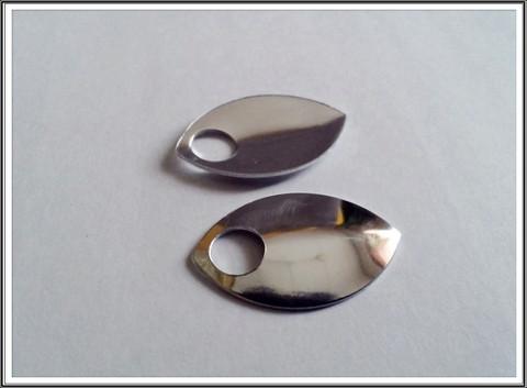 Alumiinihela iso, 30 x 20 mm, peilin kirkas