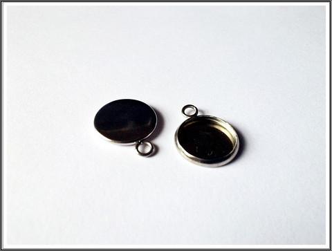 Korupohja pyöreä Ø 12 mm kapussille, ruostumaton teräs