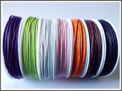 Vahanauha 1 mm, 10 m kela, eri värejä